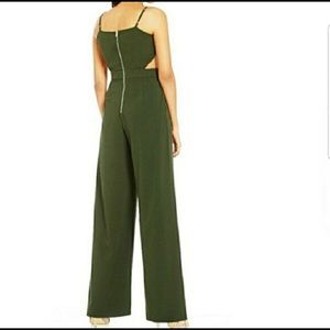 0985d140fe1a Gianni Bini Pants - NWOT GB Cutout Wide Leg V-Neck Jumpsuit
